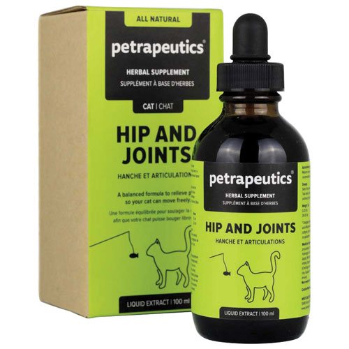 Petrapeutics Hip and Joints Herbal Supplement for Cats - 100 ml