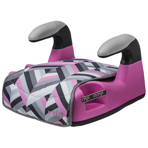 Evenflo AMP Graphics No Back Booster Car Seat