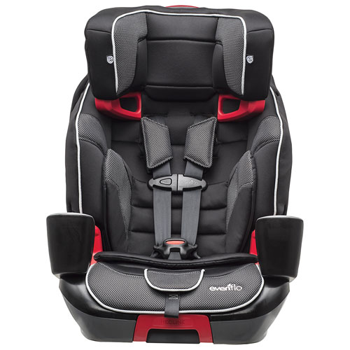 evenflo transitions convertible 3 in 1 booster car seat black grey red convertible car seats. Black Bedroom Furniture Sets. Home Design Ideas