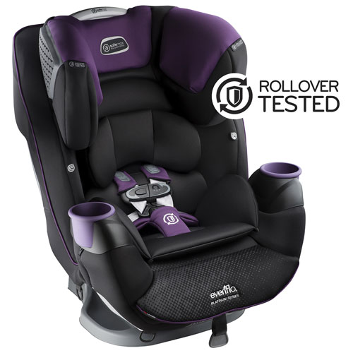 evenflo safemax madalynn convertible 3 in 1 car seat purple black convertible car seats. Black Bedroom Furniture Sets. Home Design Ideas