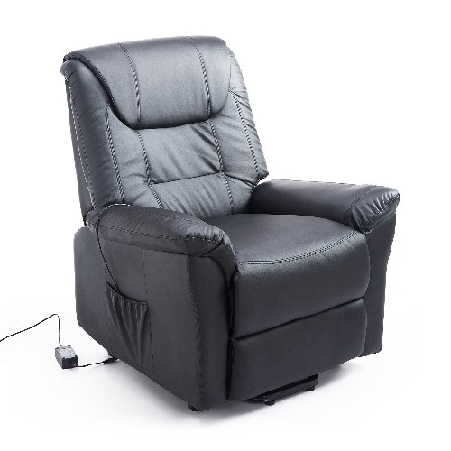 HOMCOM Leathered Electric Lift Chair Power Recliner Assist Remote Control Black  Recliners - Best Buy Canada  sc 1 st  Best Buy Canada & HOMCOM Leathered Electric Lift Chair Power Recliner Assist Remote ... islam-shia.org
