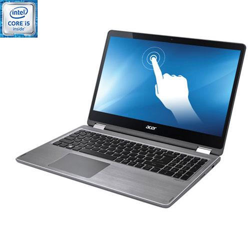 "Acer Aspire R 15.6"" Touchscreen Laptop - Silver (Intel Core i5-6200U /1TB HDD /8GB RAM /Windows 10)"