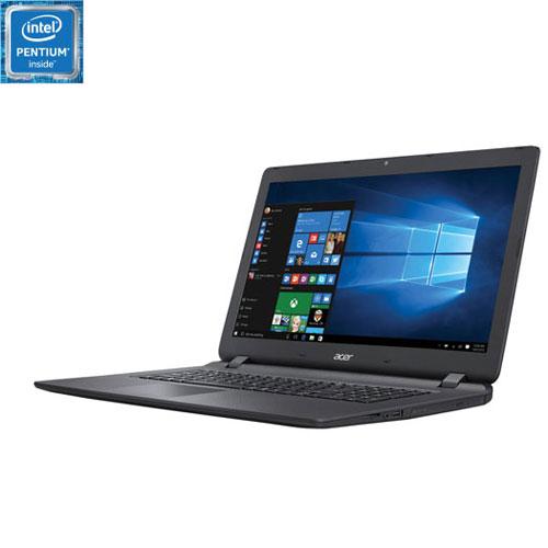 Portable de 17,3 po Aspire ES d'Acer - Noir (Pentium N4200 d'Intel/DD 500 Go/RAM 4 Go/Windows 10)