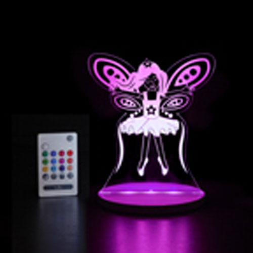 outlet store d3a15 7815d Tulio Dream Lights LED Night Light/Reading Lamp with Remote Control  (TUL1003) - Fairy