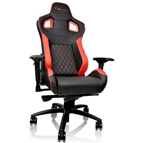 Thermaltake TT eSPORTS GT Fit Series Professional Gaming Chair GTF 100 Black & Red (support up to 120kg)