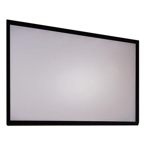"""Antra 120"""" Toile de Projection a Cadre Fixe Mural Gris Mat 16:9 Avec Gain 1.1 Compatible 3D HDTV 1080p"""