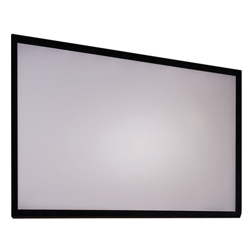 "Antra 133"" Fixed Frame Wall Projection Screen Matte Gray 16:9 with 1.1 Gain 3D HDTV 1080p Ready"