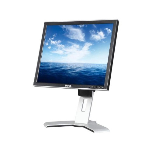 DELL,1707FPT, VGA & DVI, 17 LCD, 8MS, Black, REGULAR STAND - Refurbished 3YR Warranty