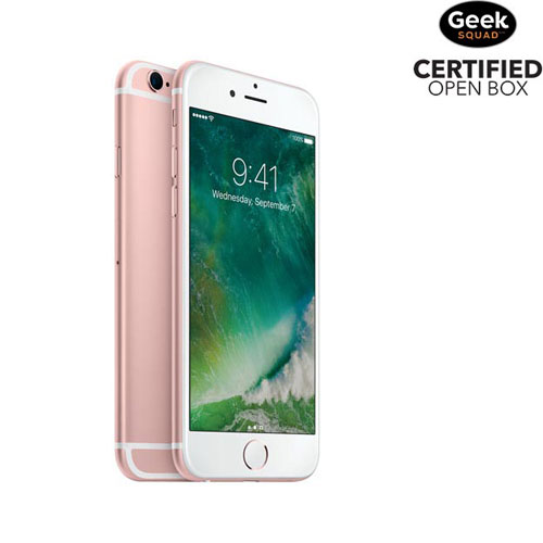 Apple iPhone 6s 32GB Smartphone - Rose Gold - Carrier SIM Locked - Open Box