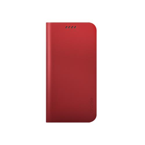 Araree Slim Diary Galaxy S6 Edge Rouge