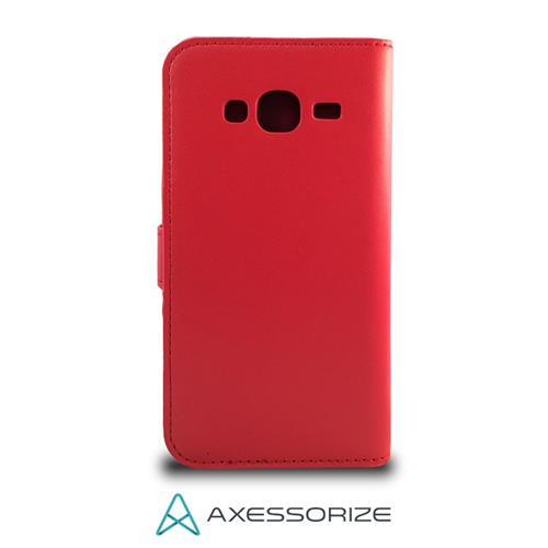 Folio Case Axessorize Galaxy J3 Rouge