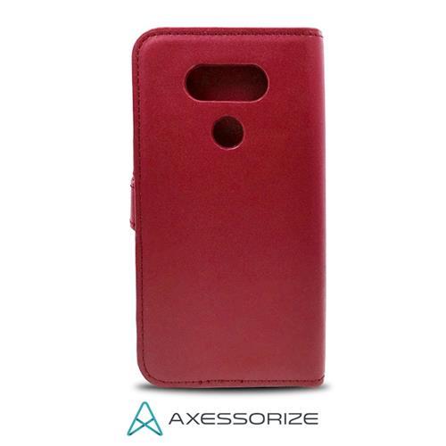 Folio Case Axessorize Google Pixel XL Red