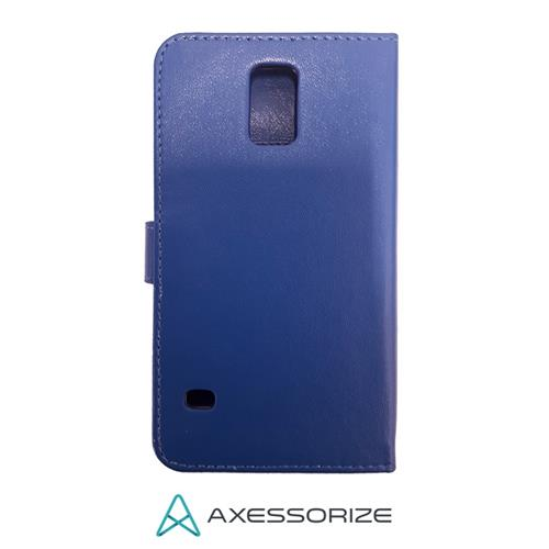 Galaxy S5 Folio Case Axessorize Blue