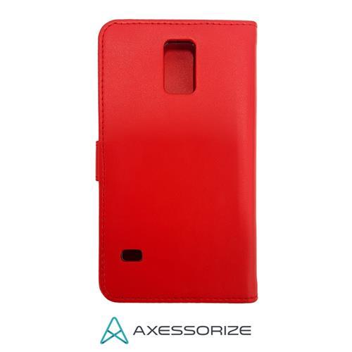 Galaxy S5 Folio Case Axessorize Red