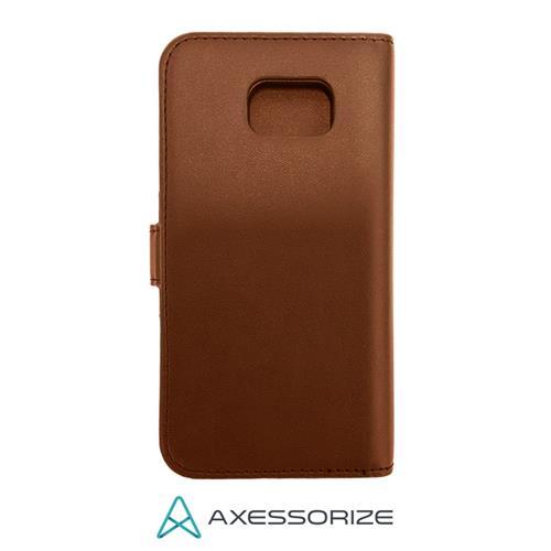 Folio Case Axessorize Galaxy S6 Brown