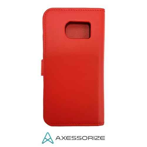 Folio Case Axessorize Galaxy S7 Rouge