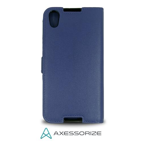 Folio Case Axessorize Alcatel Idol 4 Blue