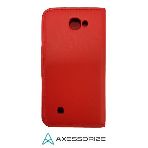 Folio Case Axessorize LG K4 (2016) Red