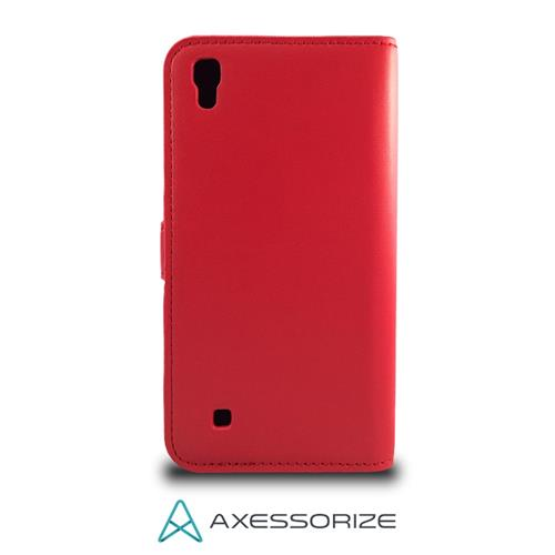 Folio Case Axessorize LG X Power Red