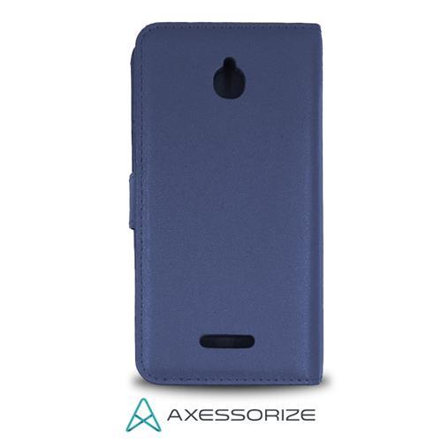 Folio Case Axessorize Alcatel Pixi 4 Bleu