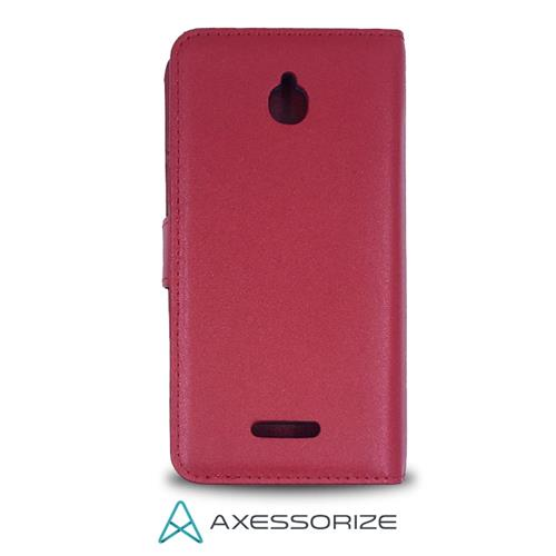 Folio Case Axessorize Alcatel Pixi 4 Rouge