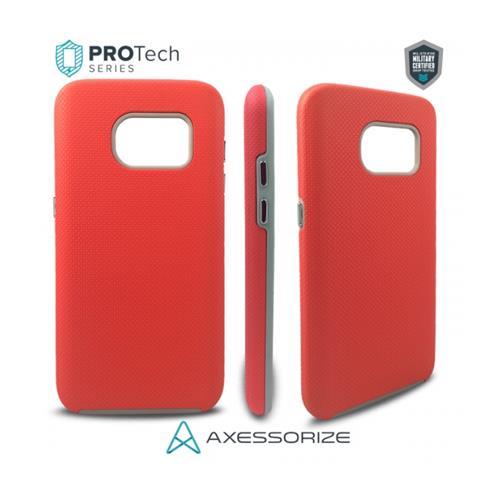 Axessorize Protech Case Samsung Galaxy S7 Salmon