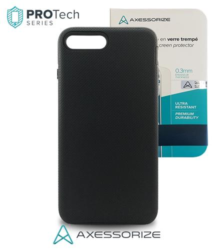 Protech iPhone 7 PLUS Black + Tempered Glass