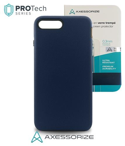 Protech iPhone 7 PLUS Cobalt Blue + Tempered Glass