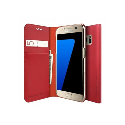 Araree Slim Diary Galaxy S7 Rouge