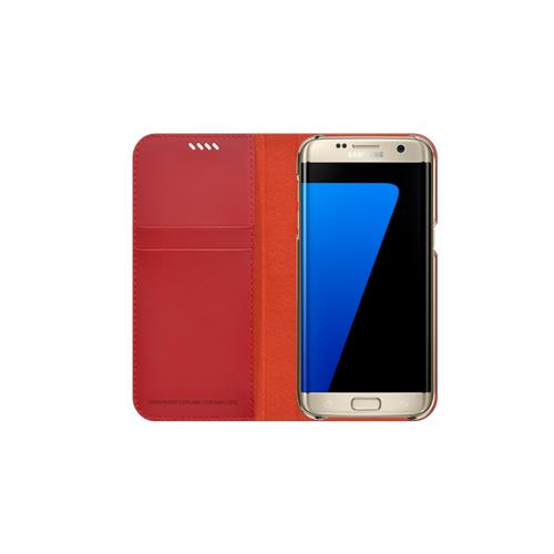 Araree Slim Diary Galaxy S7 Edge Rouge