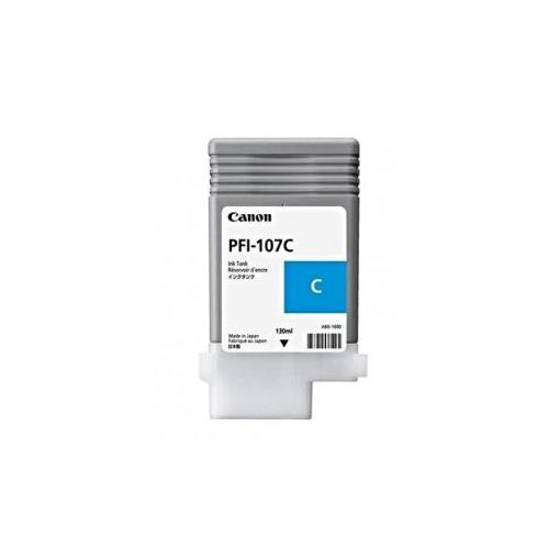 Canon PFI-107C Ink Cartridge - Cyan