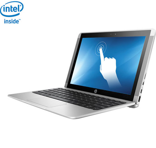 "HP 10.1"" Touchscreen Convertible Laptop - Turbo Silver (Intel Atom x5-Z8350/32GB eMMC/2GB RAM/Win10)"