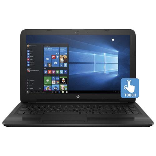 "HP 15.6"" Touchscreen Laptop - Black (AMD A6-7310/1TB HDD/6GB RAM/Windows 10)"