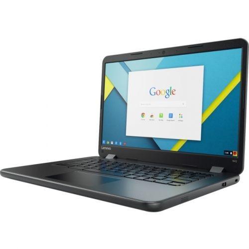 "Lenovo N42-20 80US0001CF 14"" Chromebook - Intel Celeron N3060 Dual-core (2 Core) 1.60 GHz - 4GB LPDDR3 - 16GB Flash Memory -"