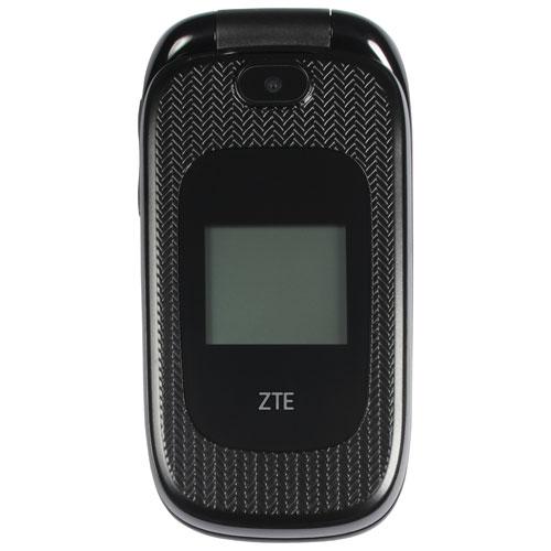 chatr ZTE Z223 128MB Smartphone - Black - Prepaid