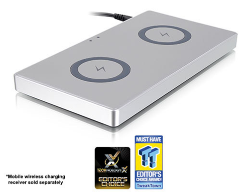 Luxa2 TX-200 Dual Wireless Charging Station