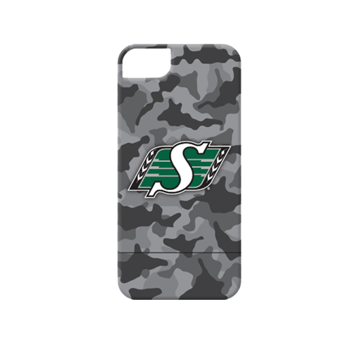 Caseco Saskatchewan Roughriders Lynx Slider Case - iPhone 5/5S/SE - Camo