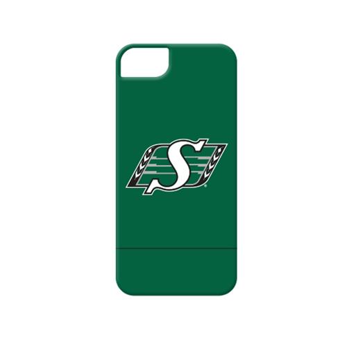 Caseco Saskatchewan Roughriders Lynx Slider Case - iPhone 5/5S/SE - Green