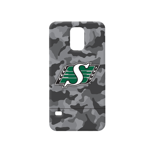 Caseco Saskatchewan Roughriders Lynx Slider Case for Galaxy S5/S5 Neo - Camo