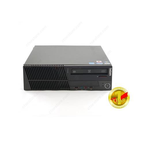 Lenovo M81 SFF, Intel I5-2400, 6GB RAM, 500GB HDD, DVDRW, Windows 10 Home(French/English) 64 bit, 1YW - Refurbished