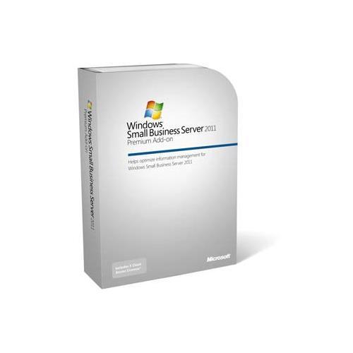 Microsoft Small Business Server 2011 Premium 5 User CAL Add On License