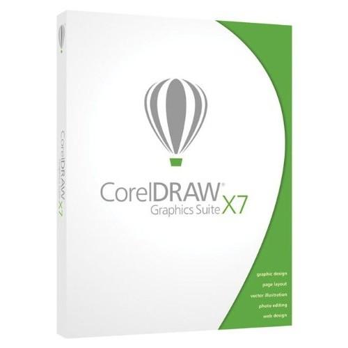 CorelDRAW Graphics Suite X7 Upgrade Bilingual