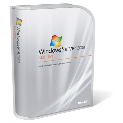 Microsoft Windows Server 2008 Standard R2 OEM 64x SP1 with 5 CAL