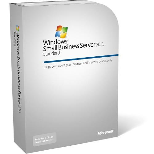 Microsoft Small Business Server 2011 Standard OEM with 5 CALs