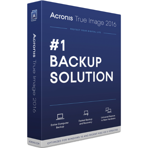Acronis True Image 2016 for 1 PC