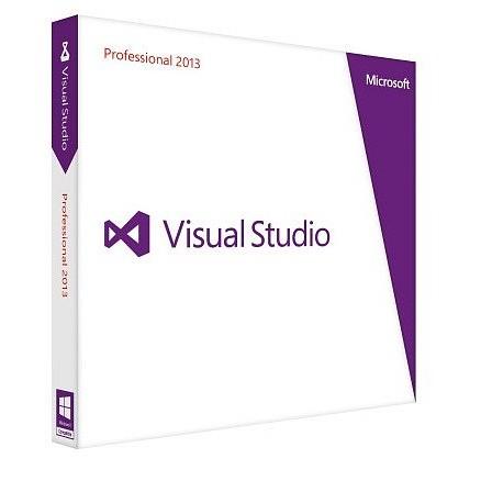 Microsoft Visual Studio 2013 Professional Upgrade