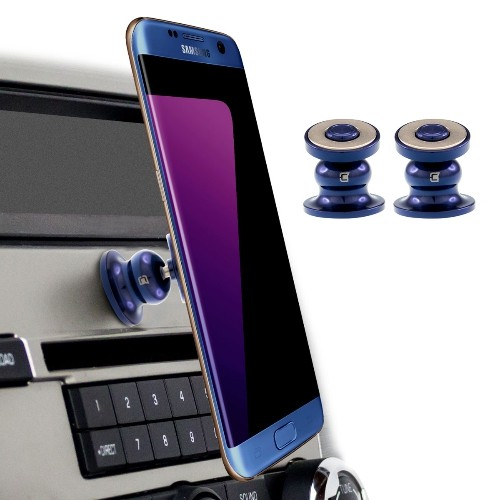 Caseco Core 360 Universal Magnetic Car Mount Phone Holder ? Blue/Blue