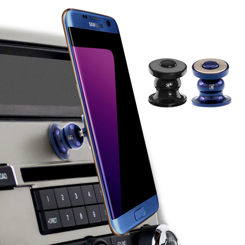 Caseco Core 360 Universal Magnetic Car Mount Phone Holder - Black/Blue