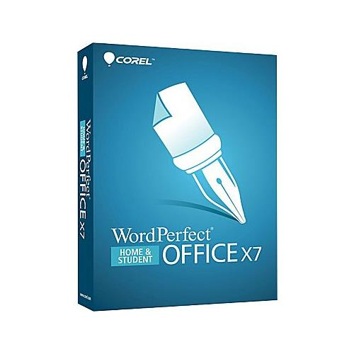 Corel WordPerfect Office X7 Home & Student Bilingual for 3 PC