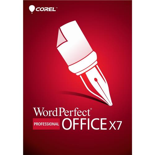Corel WordPerfect Office X7 Professional Upgrade Retail